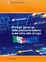 Principi generali della posizione italiana contro l'uso di droghe