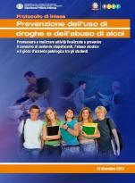 Prevenzione dell'uso di droghe e dell'abuso di alcol - Protocollo di Intesa MIUR-DPA